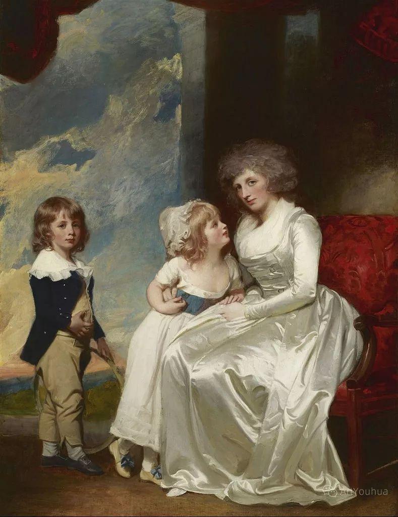 他是他那个时代最时尚的艺术家,画过许多社会名流,英国艺术家乔治·罗姆尼 85图插图85