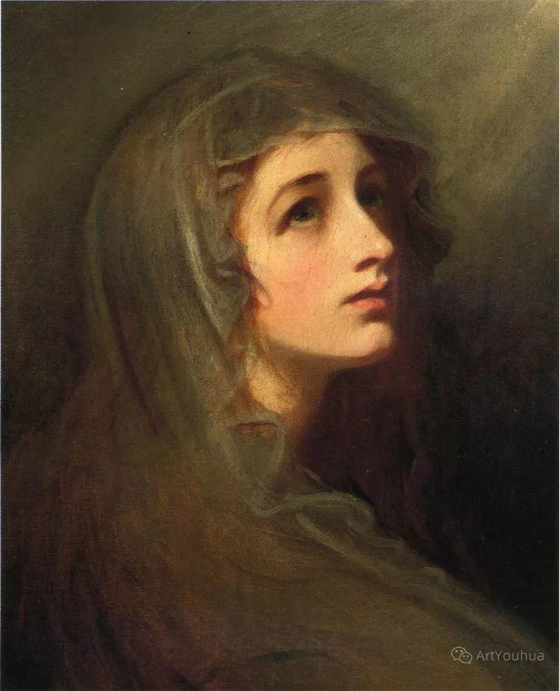 他是他那个时代最时尚的艺术家,画过许多社会名流,英国艺术家乔治·罗姆尼 85图插图87
