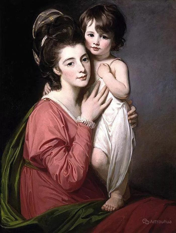 他是他那个时代最时尚的艺术家,画过许多社会名流,英国艺术家乔治·罗姆尼 85图插图125