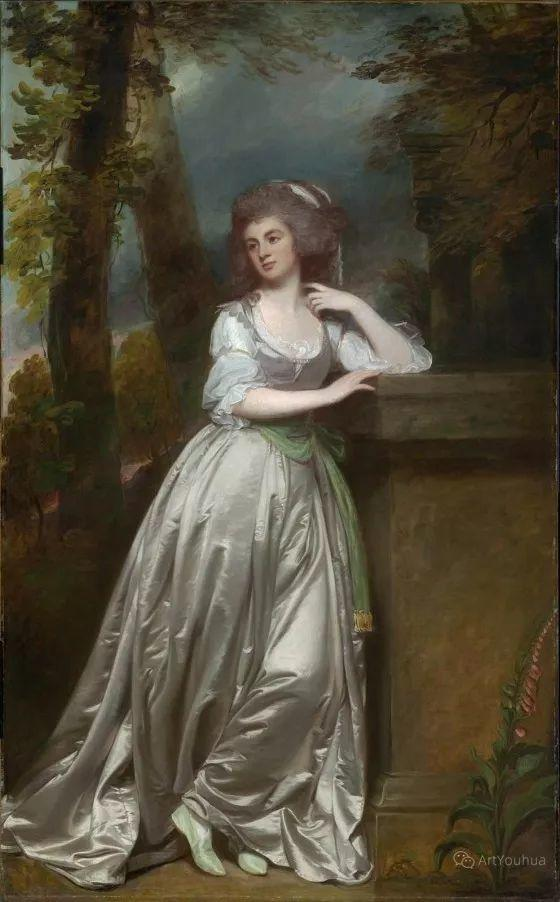 他是他那个时代最时尚的艺术家,画过许多社会名流,英国艺术家乔治·罗姆尼 85图插图131