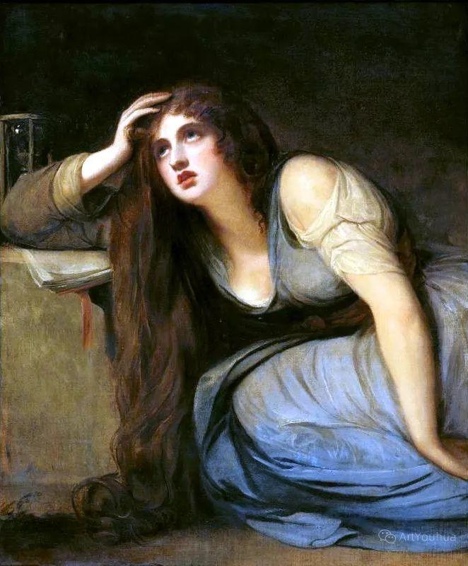 他是他那个时代最时尚的艺术家,画过许多社会名流,英国艺术家乔治·罗姆尼 85图插图137
