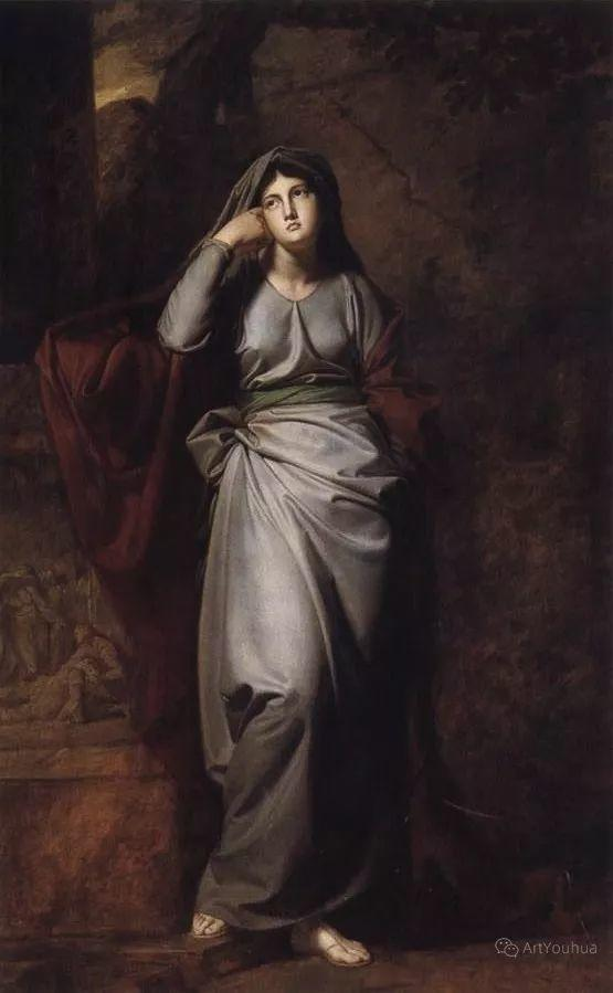 他是他那个时代最时尚的艺术家,画过许多社会名流,英国艺术家乔治·罗姆尼 85图插图139