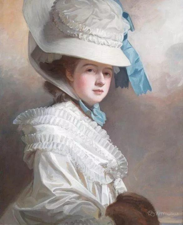 他是他那个时代最时尚的艺术家,画过许多社会名流,英国艺术家乔治·罗姆尼 85图插图147