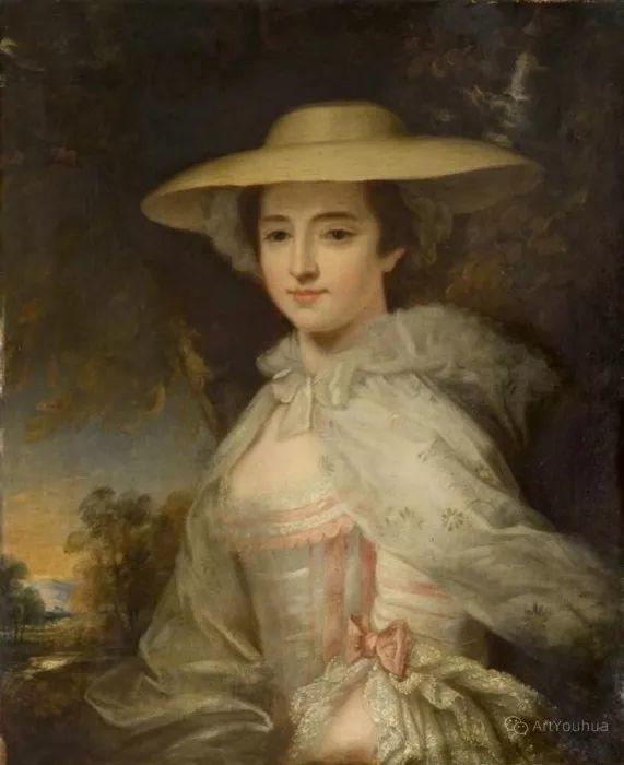 他是他那个时代最时尚的艺术家,画过许多社会名流,英国艺术家乔治·罗姆尼 85图插图149
