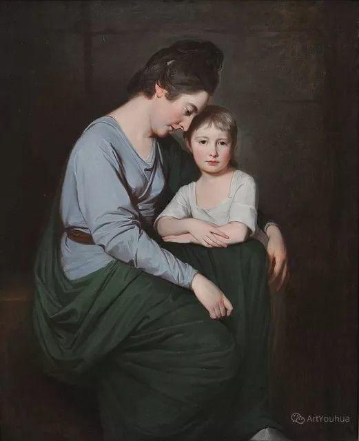 他是他那个时代最时尚的艺术家,画过许多社会名流,英国艺术家乔治·罗姆尼 85图插图153