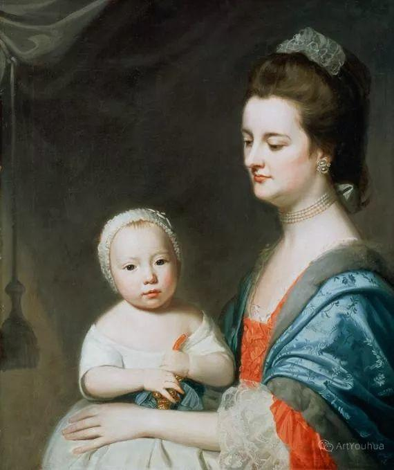 他是他那个时代最时尚的艺术家,画过许多社会名流,英国艺术家乔治·罗姆尼 85图插图157