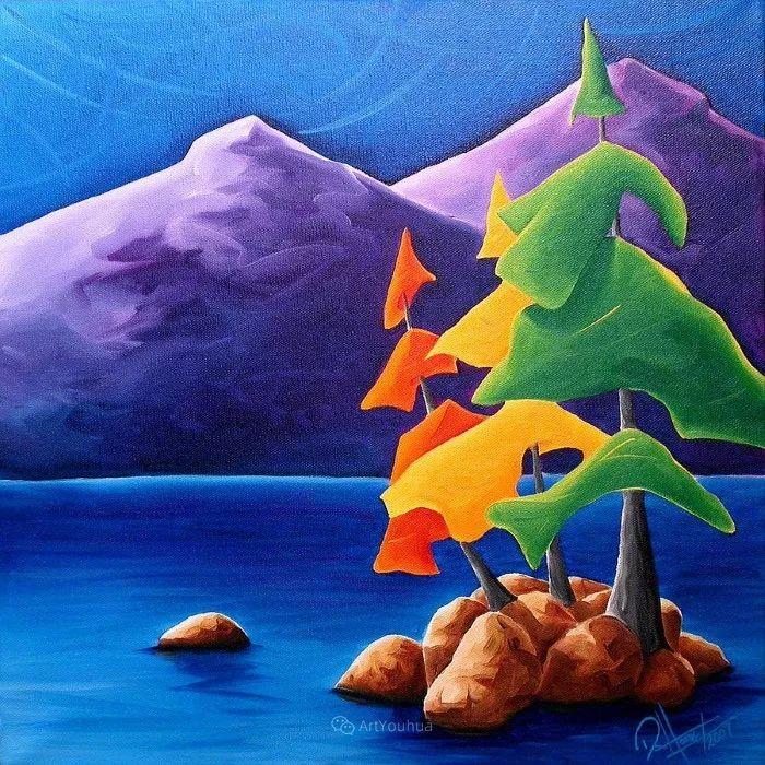 放松、愉悦、多彩,加拿大艺术家理查德·霍德尔插图5