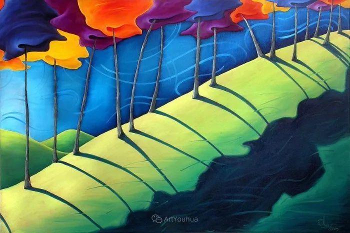 放松、愉悦、多彩,加拿大艺术家理查德·霍德尔插图7