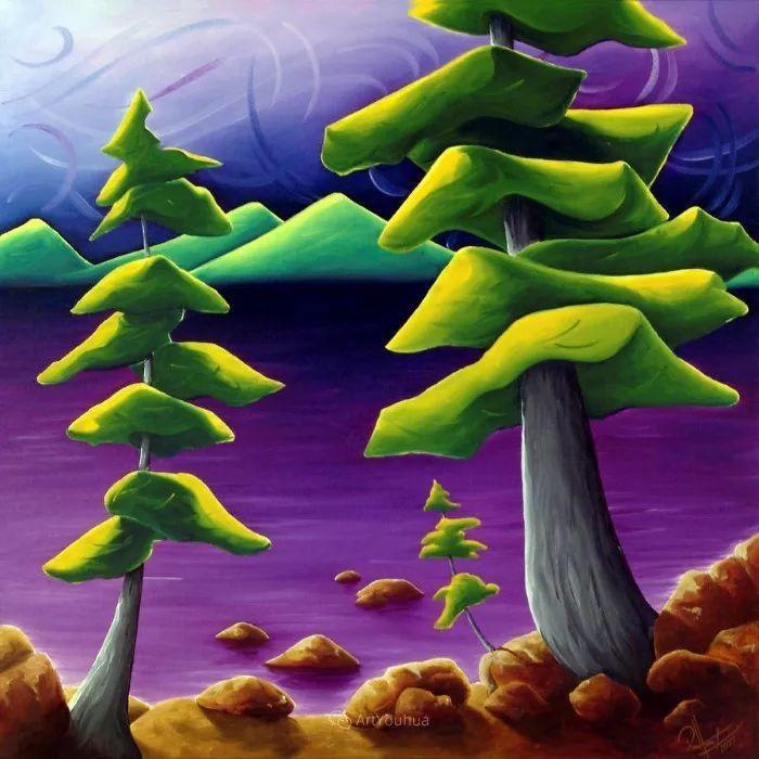 放松、愉悦、多彩,加拿大艺术家理查德·霍德尔插图11