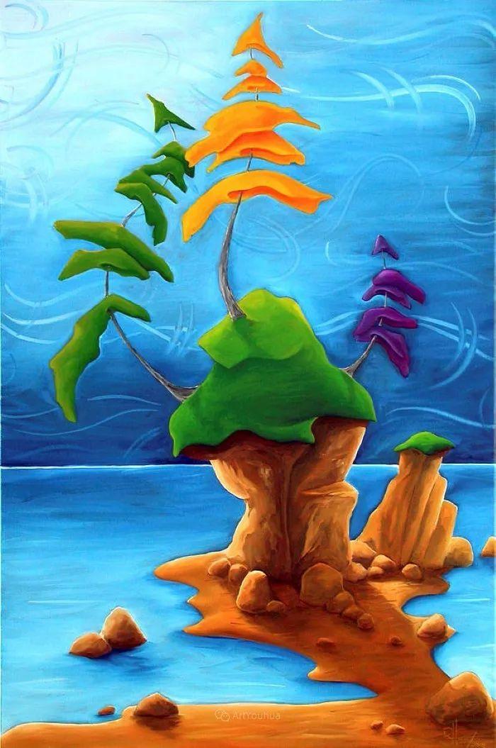 放松、愉悦、多彩,加拿大艺术家理查德·霍德尔插图15