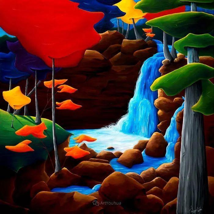 放松、愉悦、多彩,加拿大艺术家理查德·霍德尔插图19