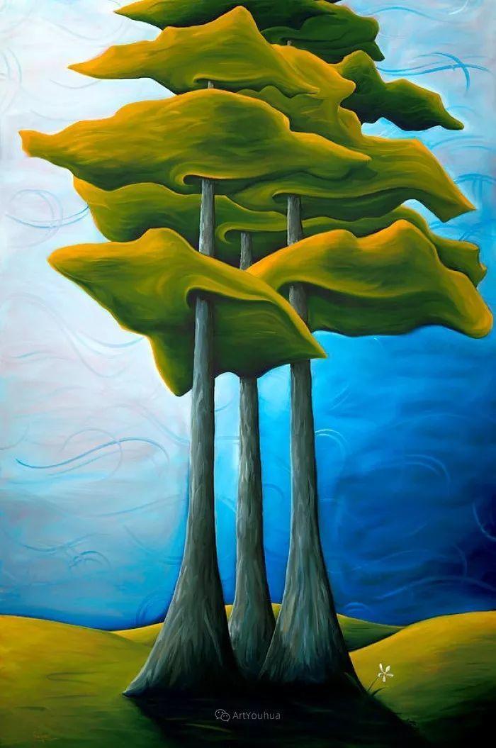 放松、愉悦、多彩,加拿大艺术家理查德·霍德尔插图21