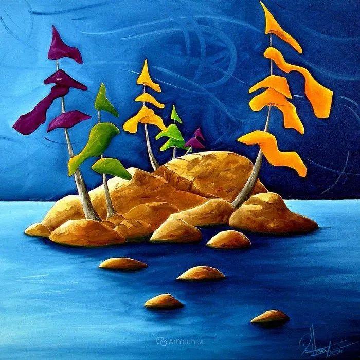 放松、愉悦、多彩,加拿大艺术家理查德·霍德尔插图25