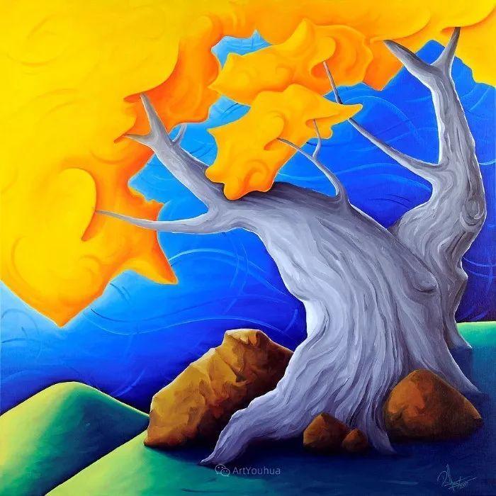 放松、愉悦、多彩,加拿大艺术家理查德·霍德尔插图27