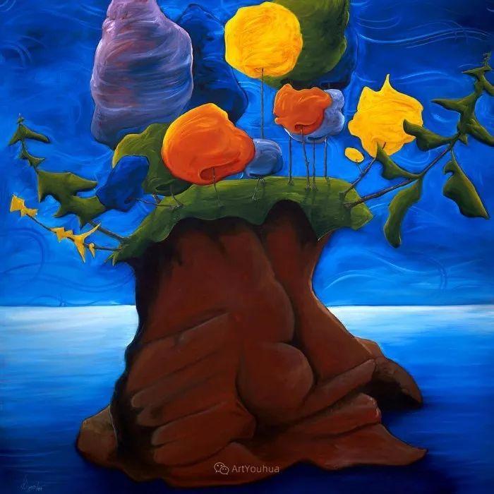 放松、愉悦、多彩,加拿大艺术家理查德·霍德尔插图29