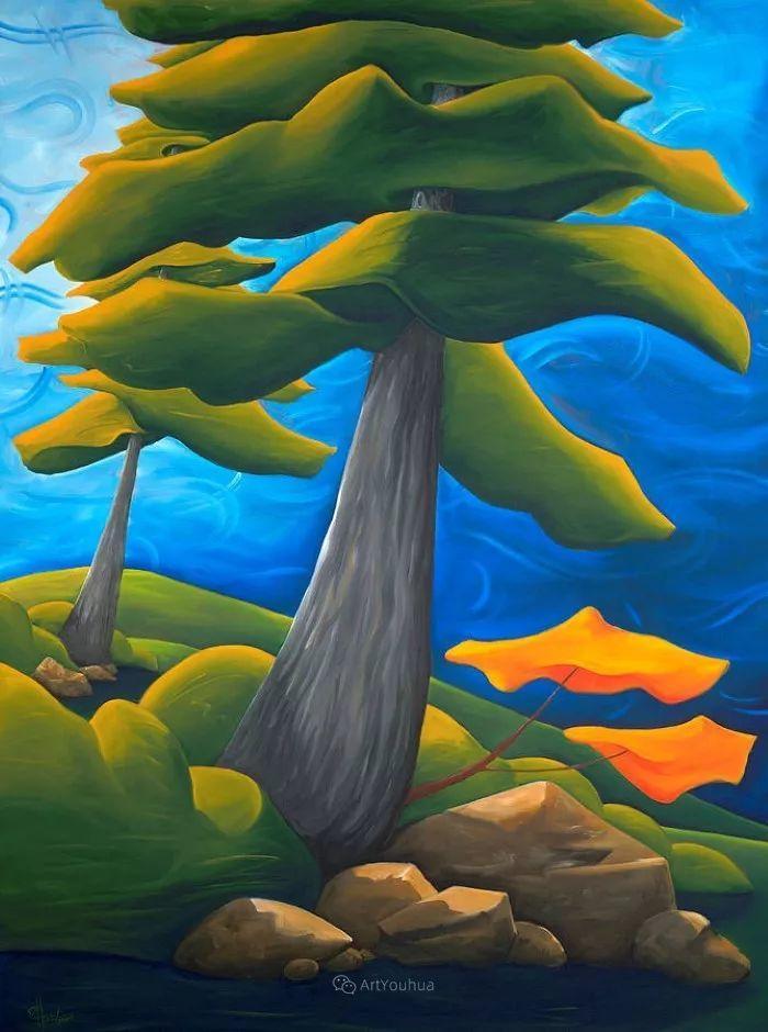 放松、愉悦、多彩,加拿大艺术家理查德·霍德尔插图31