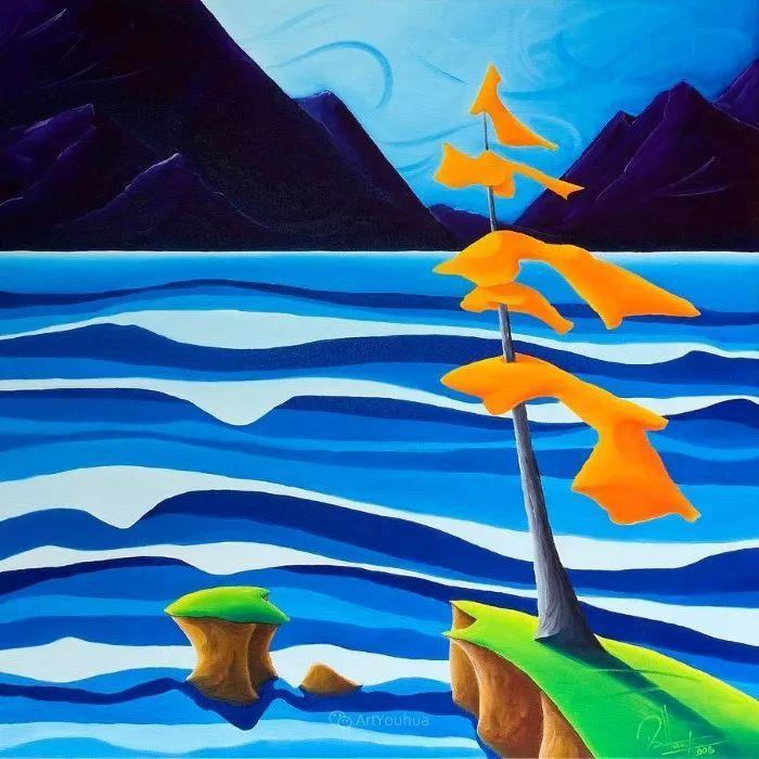 放松、愉悦、多彩,加拿大艺术家理查德·霍德尔插图33