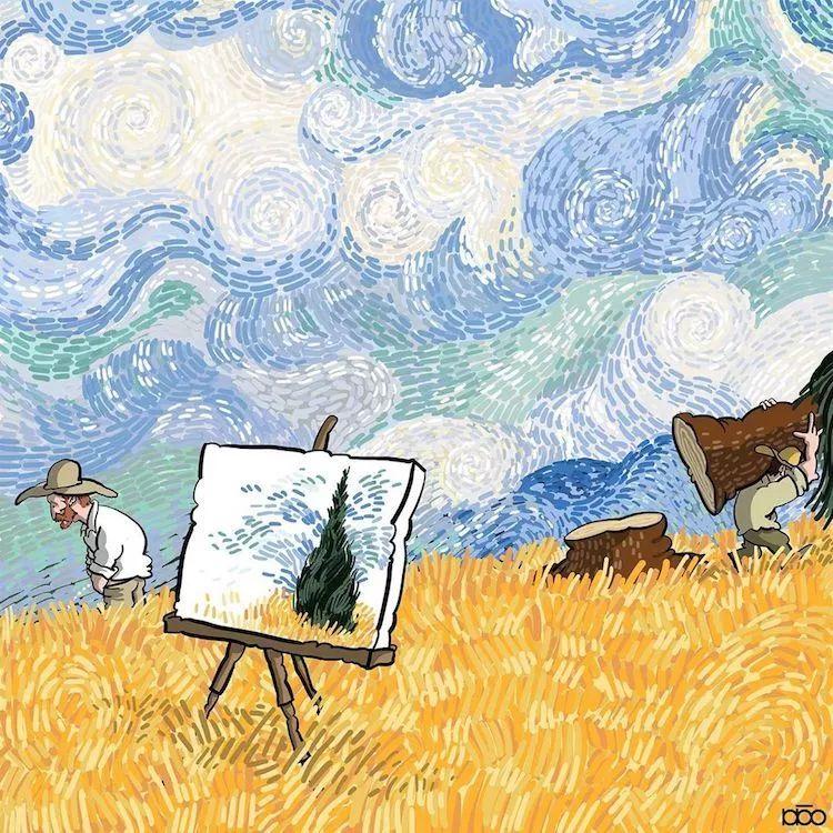 """""""梵高的日子"""",看完第一幅就爱了插图4"""