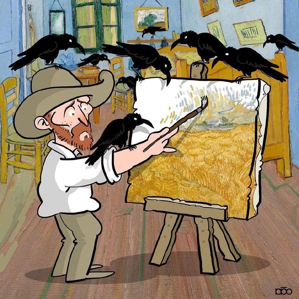 """""""梵高的日子"""",看完第一幅就爱了插图9"""