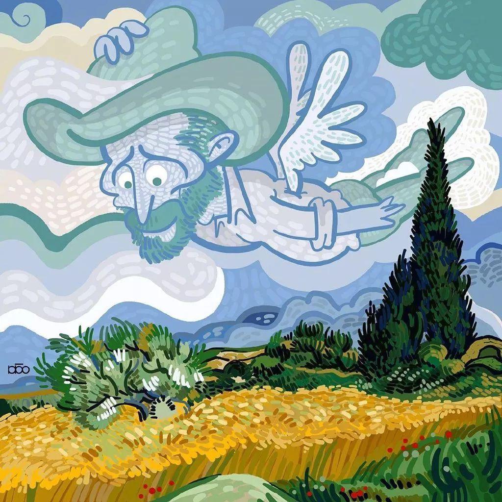 """""""梵高的日子"""",看完第一幅就爱了插图16"""