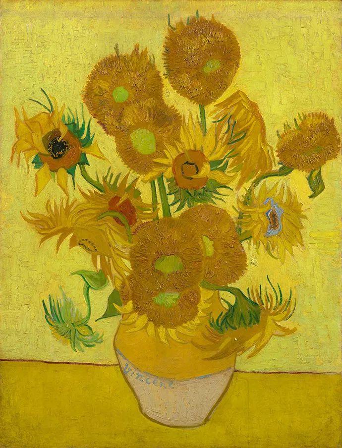 且等春归来,大师笔下的花插图2