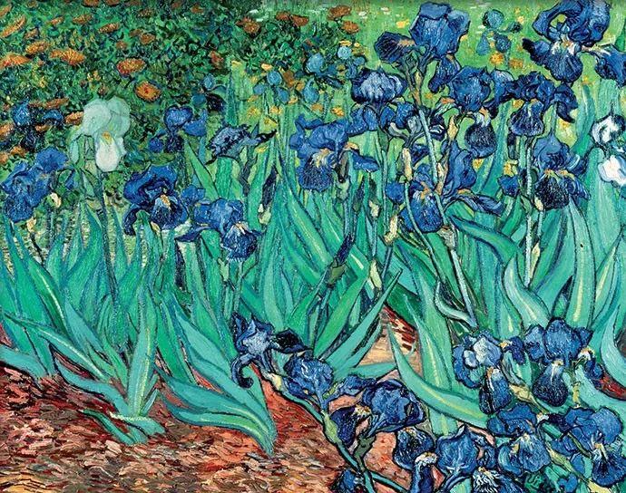 且等春归来,大师笔下的花插图6