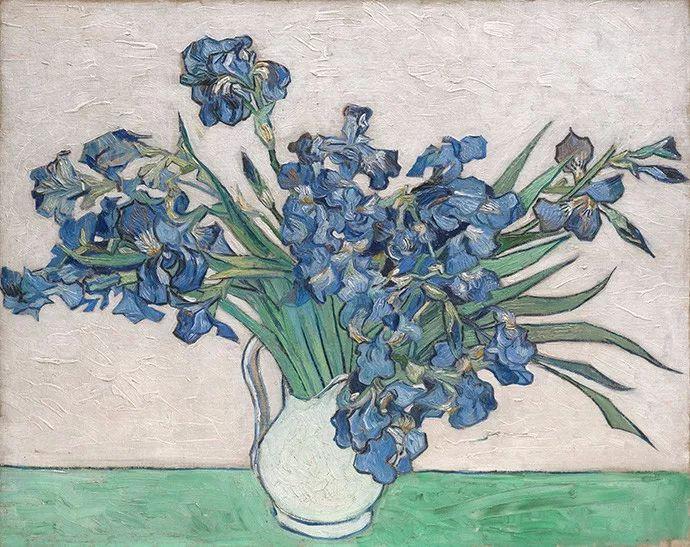 且等春归来,大师笔下的花插图7