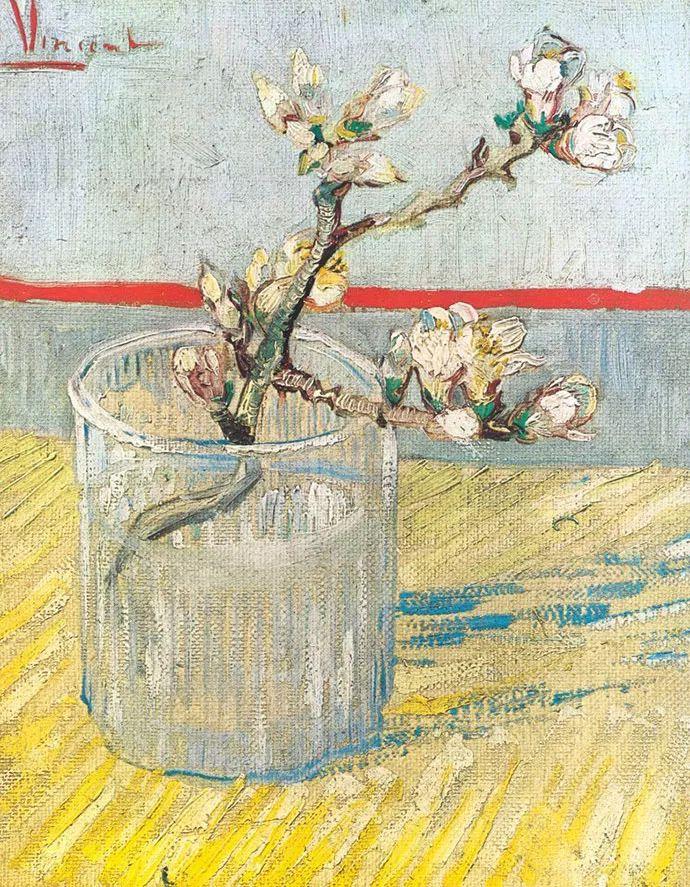 且等春归来,大师笔下的花插图16