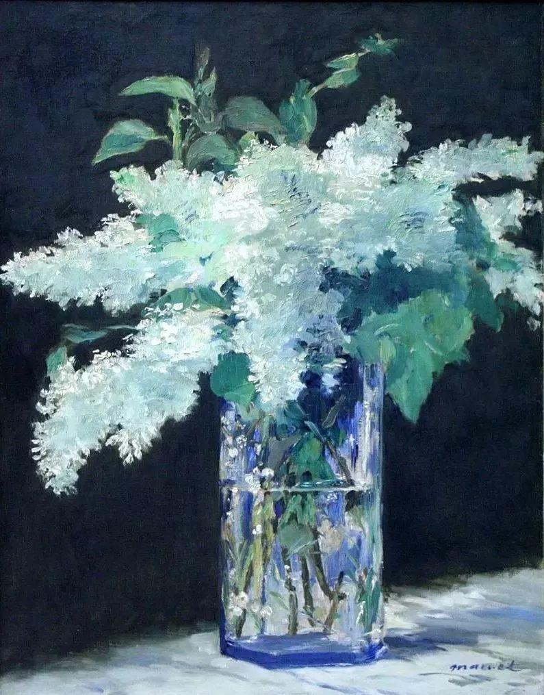 且等春归来,大师笔下的花插图68
