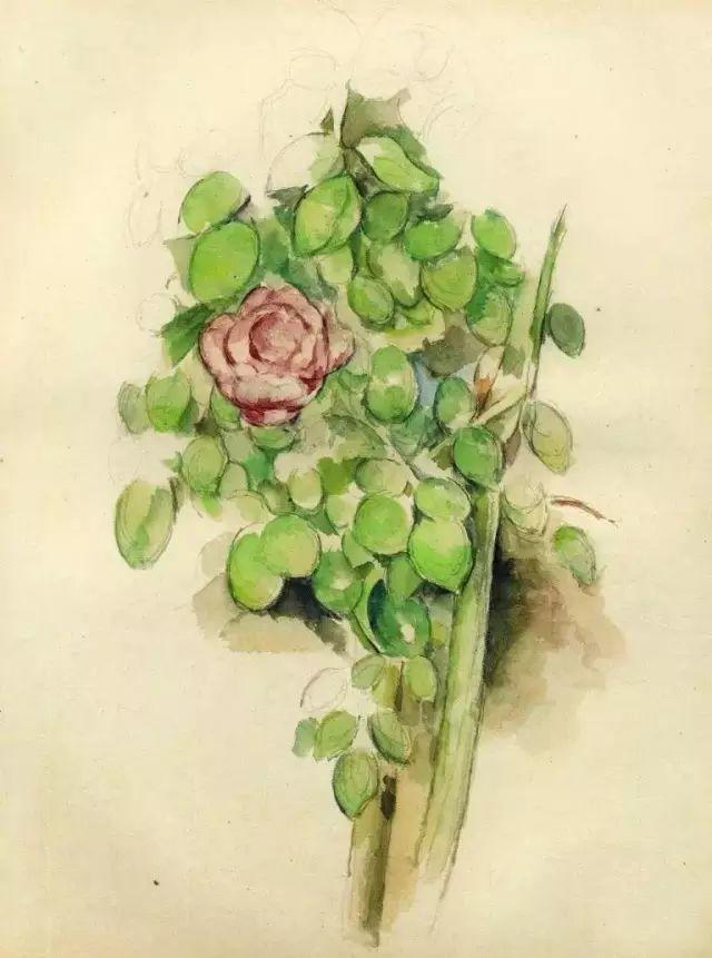 且等春归来,大师笔下的花插图91