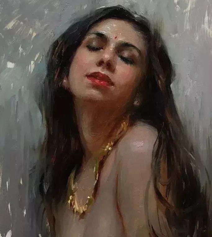印度女画家笔下的女性之美,值得细细品味!插图9