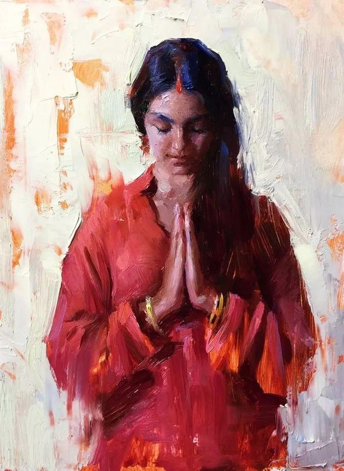 印度女画家笔下的女性之美,值得细细品味!插图19