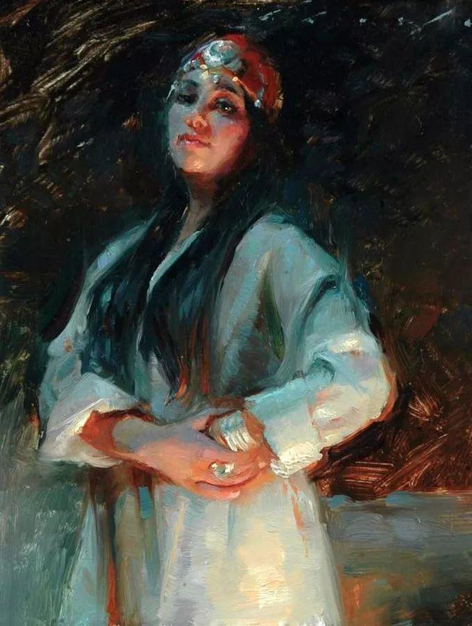 印度女画家笔下的女性之美,值得细细品味!插图23