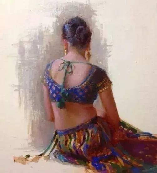 印度女画家笔下的女性之美,值得细细品味!插图33