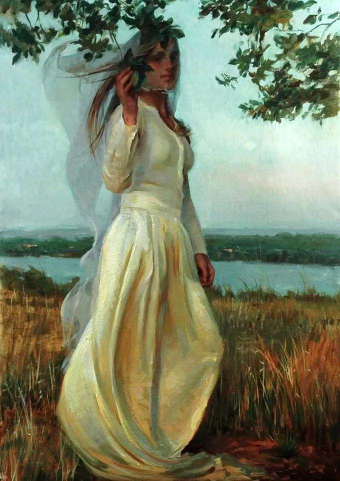 印度女画家笔下的女性之美,值得细细品味!插图37