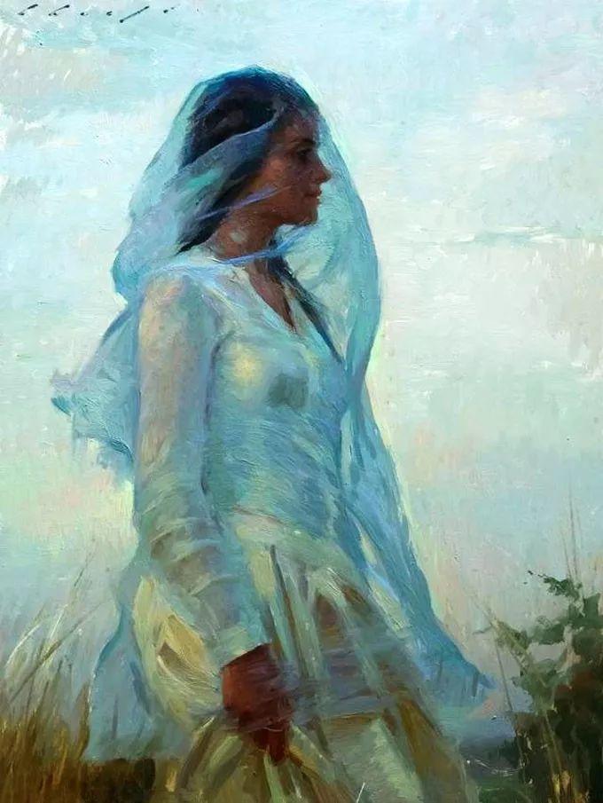印度女画家笔下的女性之美,值得细细品味!插图45