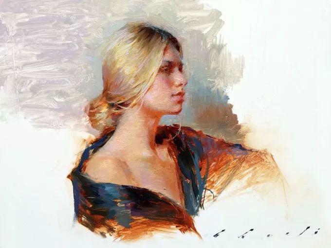印度女画家笔下的女性之美,值得细细品味!插图57