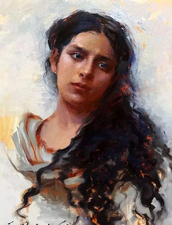 印度女画家笔下的女性之美,值得细细品味!插图67