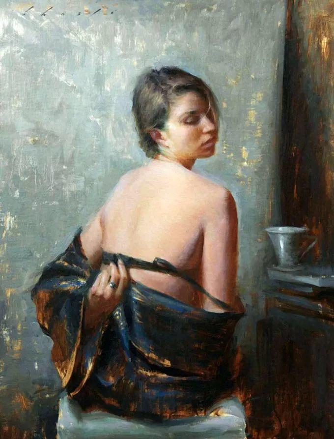 印度女画家笔下的女性之美,值得细细品味!插图71