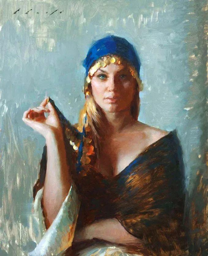 印度女画家笔下的女性之美,值得细细品味!插图77