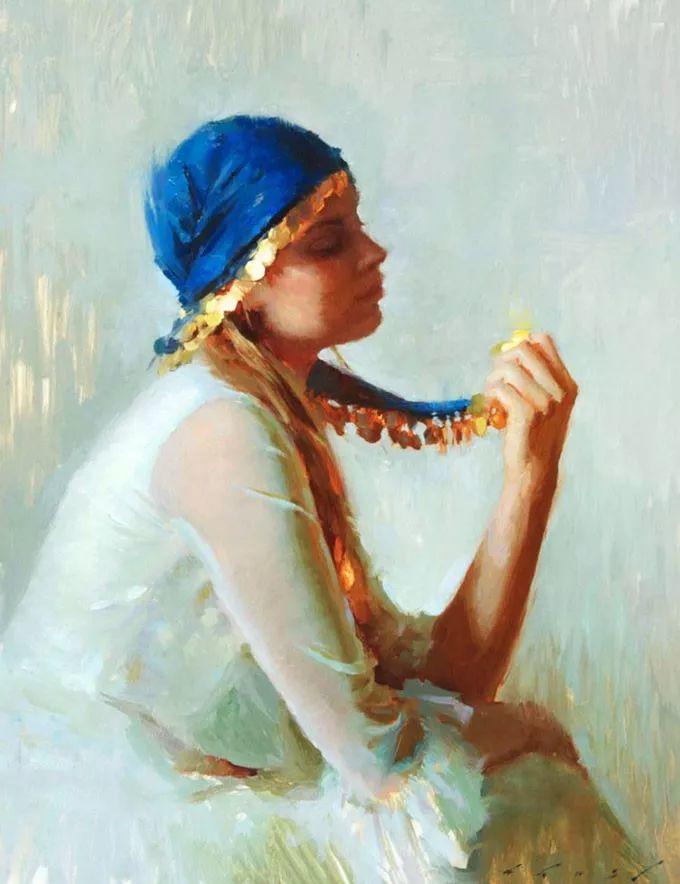 印度女画家笔下的女性之美,值得细细品味!插图79