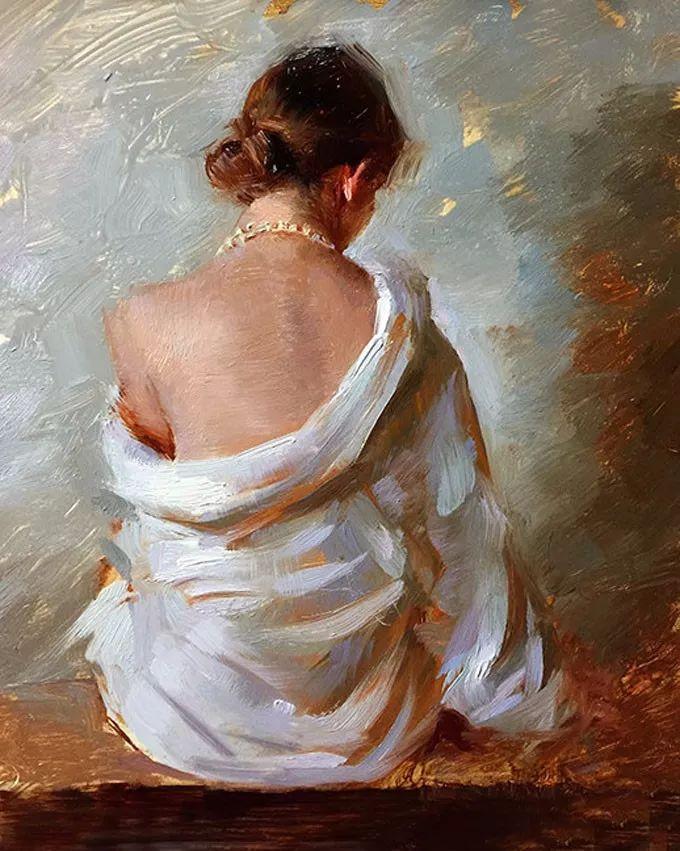 印度女画家笔下的女性之美,值得细细品味!插图89