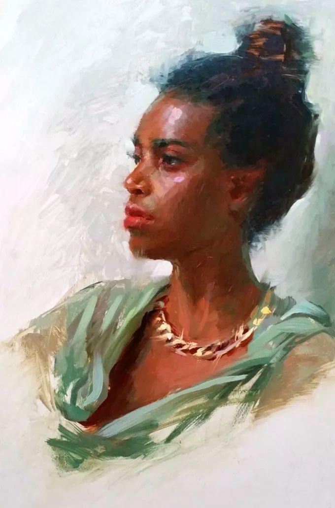 印度女画家笔下的女性之美,值得细细品味!插图93