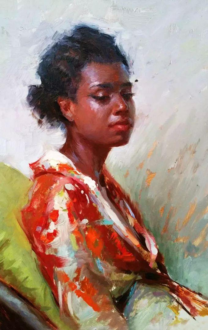 印度女画家笔下的女性之美,值得细细品味!插图95
