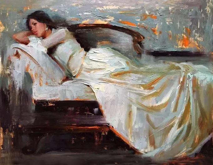 印度女画家笔下的女性之美,值得细细品味!插图107