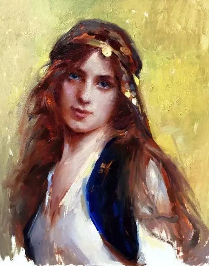 印度女画家笔下的女性之美,值得细细品味!插图111