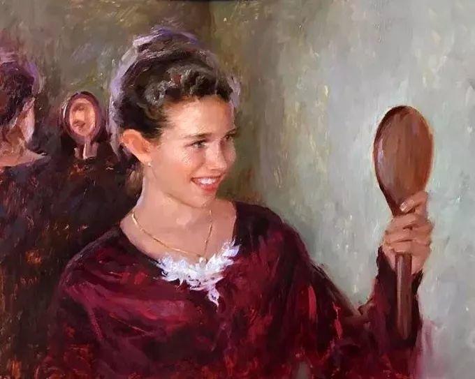 印度女画家笔下的女性之美,值得细细品味!插图113