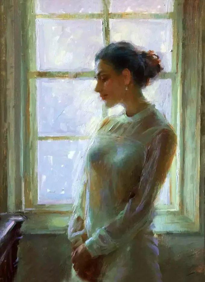 印度女画家笔下的女性之美,值得细细品味!插图123