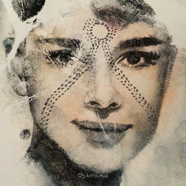 令人叫绝的手掌肖像画,美国艺术家拉塞尔·鲍威尔插图5