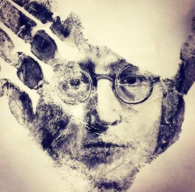 令人叫绝的手掌肖像画,美国艺术家拉塞尔·鲍威尔插图25